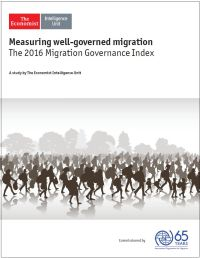"<h4>Relatório: ""Measuring well-governed migration: The 2016 Migration Governance Index""</h4>"