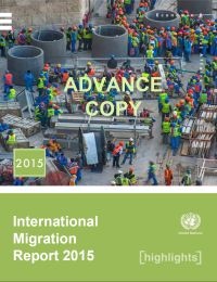 <h4>Relatório ONU: International Migration Report 2015 – Highlights</h4>