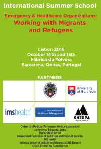 "<h4>Escola de Verão: ""Emergency & Healthcare Organizations: Working with Migrants and Refugees""</h4>"
