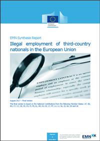 "<h4>Relatório EMN: ""Illegal Employment of Third-country Nationals in the European Union""</h4>"
