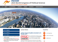 "<h4>Chamada para comunicações: ""25th IPSA World Congress of Political Science""</h4>"