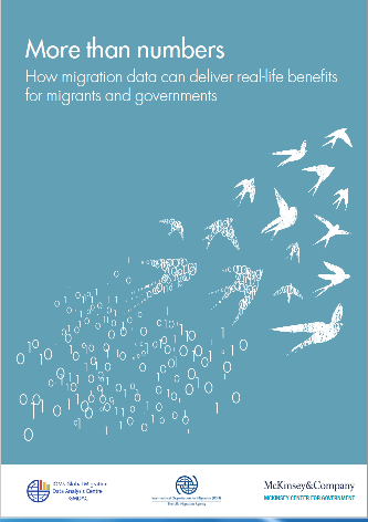 "<h4>Relatório OIM: ""More than numbers - How migration data can deliver real-life benefits for migrants and governments""</h4>"