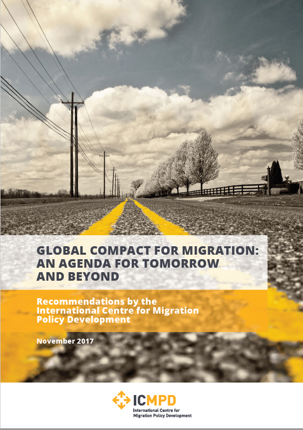 "Recomendações do ICMPD: ""Global Compact for Migration: an Agenda for tomorrow and beyond"""