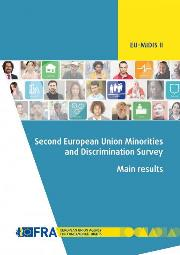 "Relatório FRA: ""Second European Union Minorities and Discrimination Survey (EU-MIDIS II): main results"""