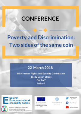 "Conferência Equinet: ""Conference on Poverty & Discrimination: Two Sides of the Same Coin"""