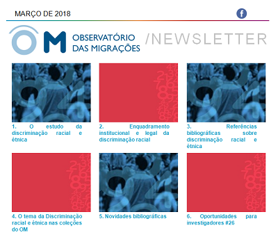 Newsletter OM - Discriminação de base racial e étnica