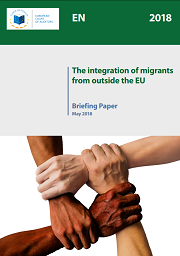 "<h4>Briefing paper: ""The integration of migrants from outside the EU""</h4>"