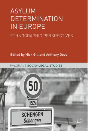 "<h4>Livro: ""Asylum Determination in Europe: Ethnographic Perspectives""</h4>"