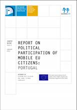 """Report on political participation of mobile EU citizens : Portugal"""