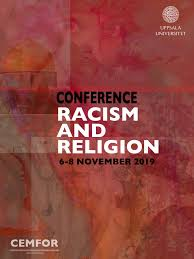 "Chamada de trabalhos: ""Conference on Racism and Religion 2019"""