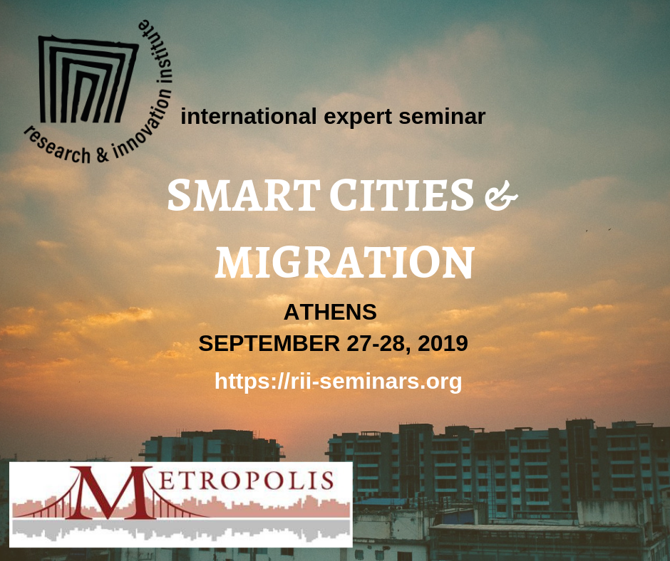 Seminário de Peritos Internacionais: Smart Cities & Migration