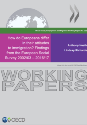 <h4>How do Europeans differ in their attitudes to immigration? Findings from de European Social Survey 2002/03 – 2016/17</h4>