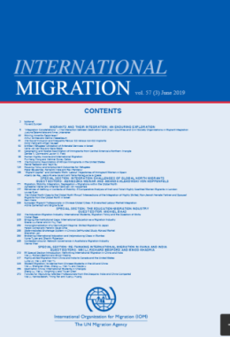International Migration (Volume 7, Tema 3, Junho 2019)