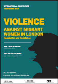 "<h4>Conferência – ""Violence Against Migrant Women in London""</h4>"
