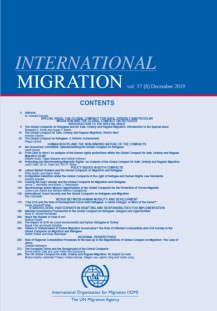 International Migration, 57(6), dezembro 2019