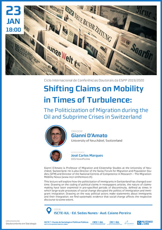 <h4>Shifting claims on mobility in times of turbulence</h4>